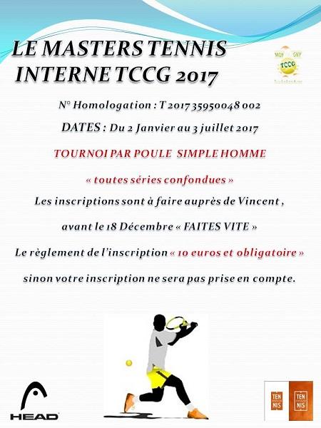 Image Tournoi interne 2017
